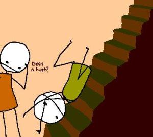 people-falling-down